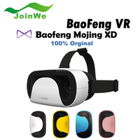 "2016 Baofeng Mojing XD 3D VR Glasses Virtual Reality Helmet Cardboard Box for iPhone 6 6S Plus & Android 4.7 - 5.5 6"" Smartphone"