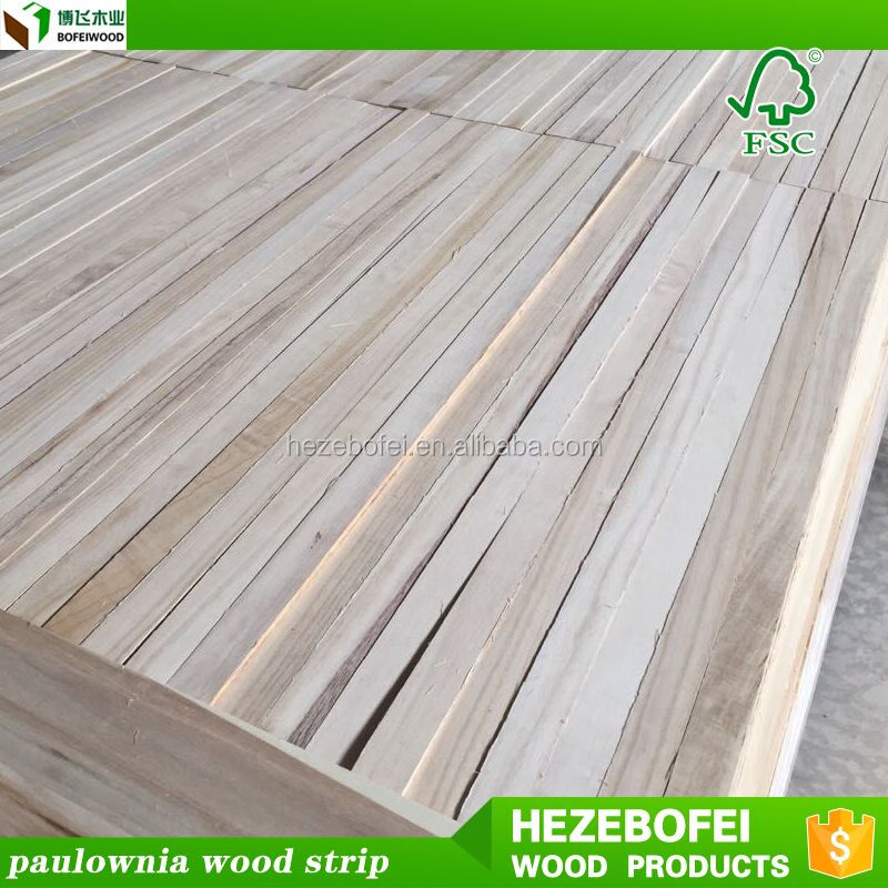 paulownia and poplar and pine solid triangular wood strips moulding