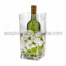 Disposable Insulated PVC Ice Wine/Beer Bag for 1 Bottle