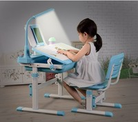 Functional Kids Preschool furniture study table for children A80T