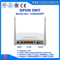 high performance Routing ONU fiber optical network GPON ONT 4GE+WIFI+CATV
