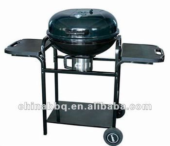 apple charcoal bbq grill