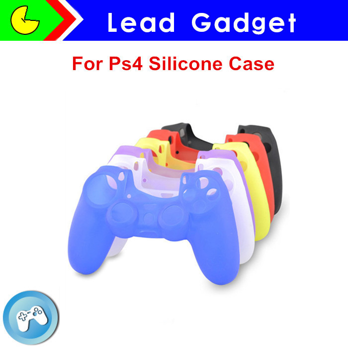 For Playstation 4 controller silicone cover case wholesale