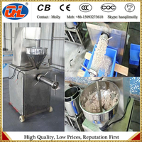 After fish debone machine for using fish meat strainer