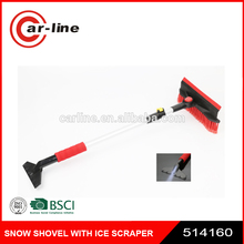factory hot sales heavy-duty snow brush with ice scraper ODM