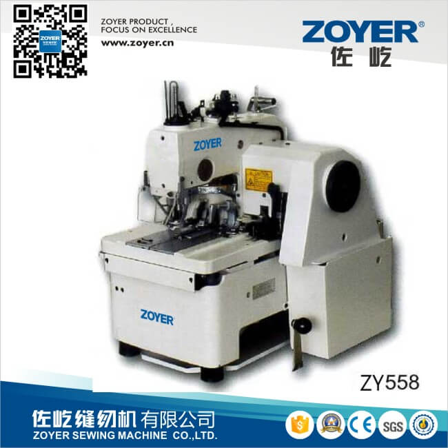 ZY558 Zoyer double needle Durkopp Adler 558 eyelet button holer industrial sewing machine