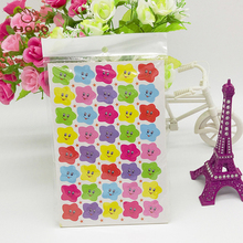 Fashion Custom Kids Toys Cartoon Emoji Smile face Expression 3D Stickers Children PVC Stickers Bubble Stickers