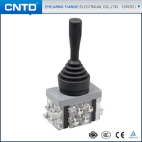 CNTD 2016 Seal Square 4 Way Joystick Switch 30mm Momentary Returnable Or Stable Monolever Joystick Switch