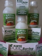 GREEN BARLEY A TOTAL FOOD and SANTE PURE Barley from New Zealand