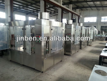 PET bottle washing filling capping machine