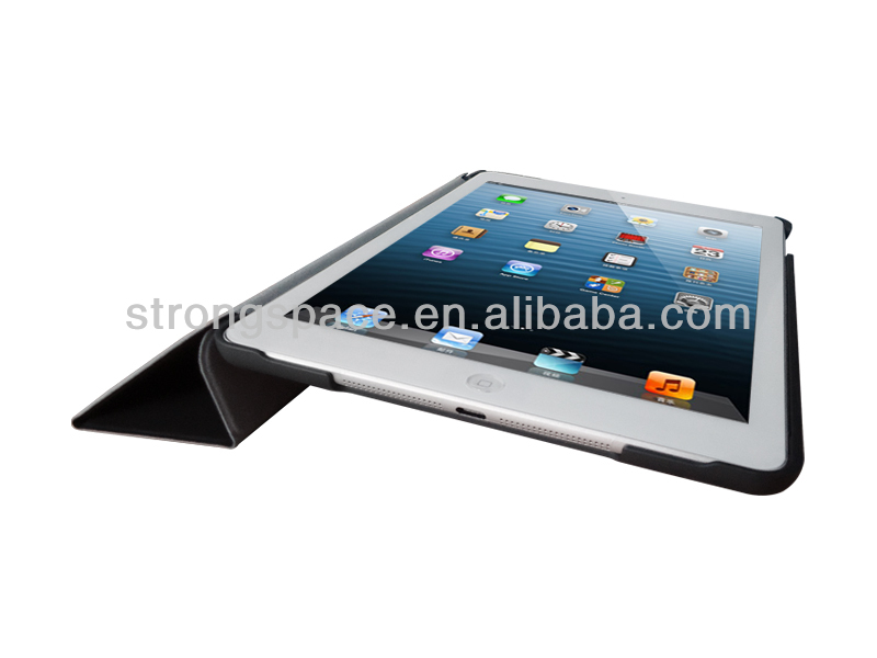 smart cover case for ipad air, leather case for ipad air