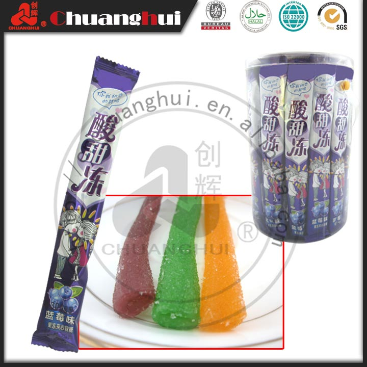 20g Sour Gummy Candy Stick Factory