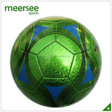machine sewn official size cheap bubble ball soccer ball