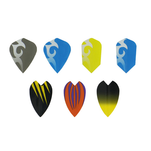 Different Designs Custom Professional Metallic Dart Flights