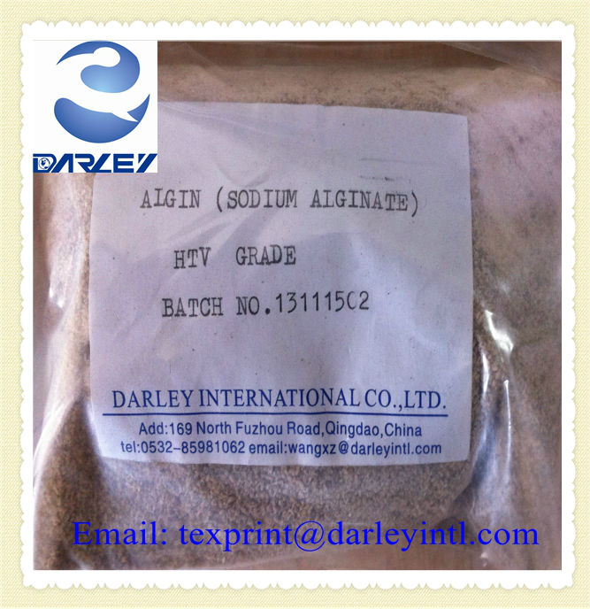 sodium alginate textile printing gum