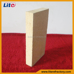 20mm 30mm 40mm thickness split high refractoriness thin fire brick for boiler