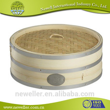 2014 wholesale electrical bun bamboo food steamer container cheap bamboo steamer for cooking