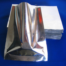 Mylar Heat Seal Smell Proof food packaging Aluminum Foil pouch Bags