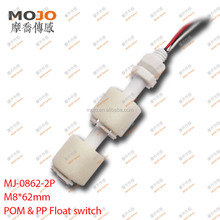 MJ-0862-2P 10w PP material two float ball high accuracy level water sensor float switch water tank sensor Liquid Level Switch