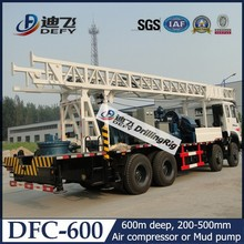 DFC-600 Rotary drilling rig / exploration / hydraulic / water well / truck-mounted drilling rig
