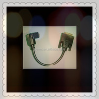 Right Angle DVI To DVI Cable assembly