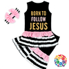 Wholesale Black Easter Boutique Outfits Fashion