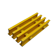 Shock resistance high strength pultrusion frp grating for pier aisle