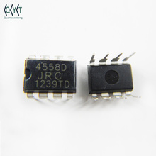 DIP IC Integrated circuit 4558 4558D JRC4558 JRC4558D