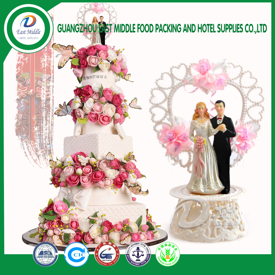 Hot sale wedding cake decorating doll wedding bridal doll car decorating doll