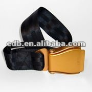 Black Webbing belt,airplane belt,web belts men fashion EDB-12102201 colour belt