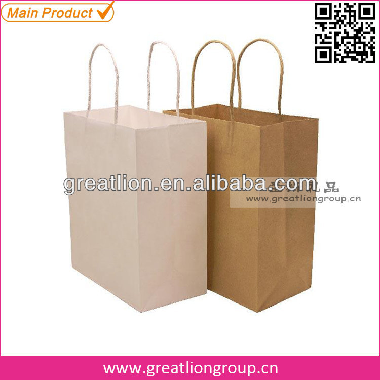 Custom made shopping bag &paper bags with high quality