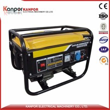 High quality 0.8 Threephase 1.5kw electric generator by UK Engine(KP160F)