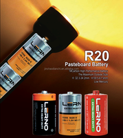 Magic power D SIZE R20 CARBON ZINC Dry Battery metal jacket Dry Cell Manganese Battery Battery
