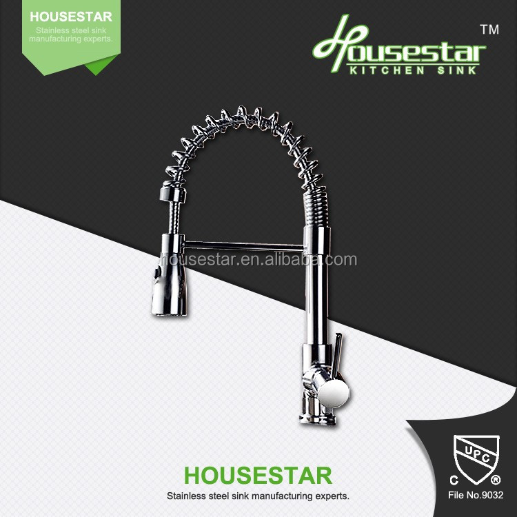 Hot selling in US market Single handle pull out UPC kitchen faucet tap