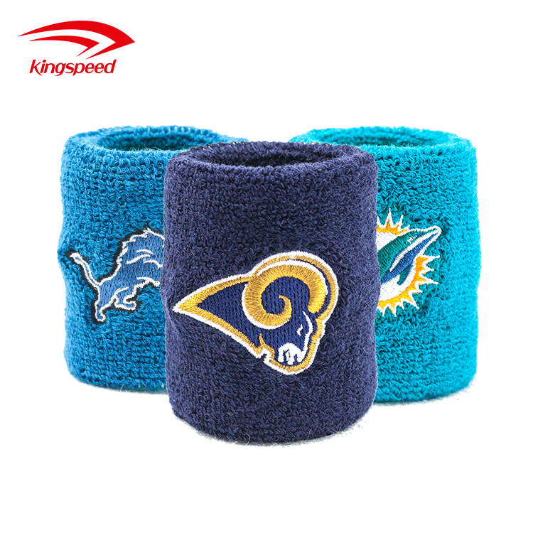 Mens sport suits fashion basketball bulk wholsale spandex embroidery knitted cloth custom sweatbands no minimum