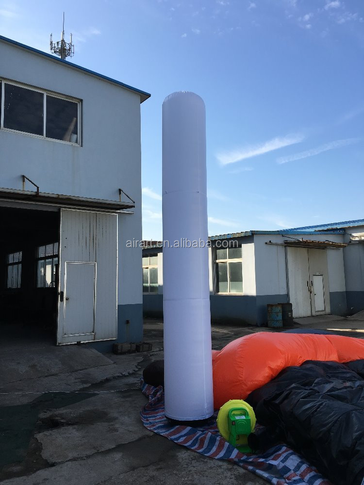 wedding party decor inflatable column