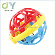 baby hand shaking & crawling ringing bell ball for wholesale