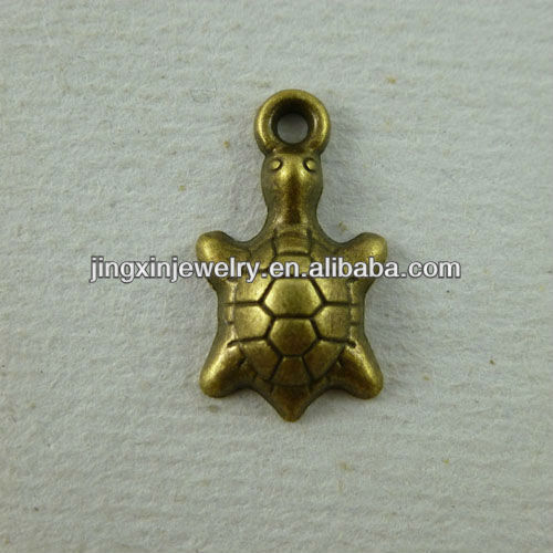YiWu Fashion Turtle Pendants Copper Tortoise Jewelry Trading Company