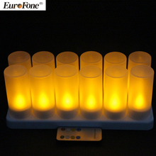 2017 new arrival Enviromental led artificial lighting candle