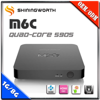 Top selling Amlogic s905 Android 5.1 tv box 4K KODI IPTV box with free videos