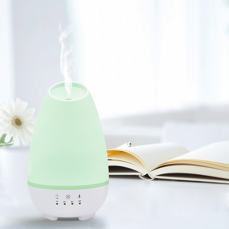 Portable Lavender Diffuser Aroma Products With Wood Grain And Beautiful Color Changing Led Lights