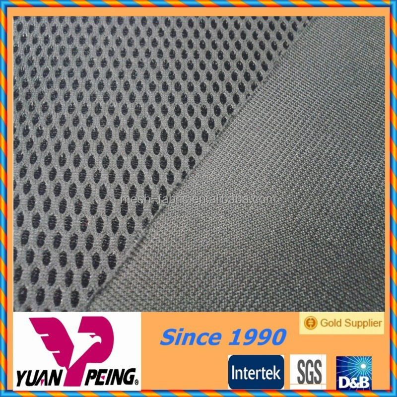 poly mesh fabric car seat materials