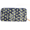 New hot selling lady canvas purse with star printing,promotional girl wallet