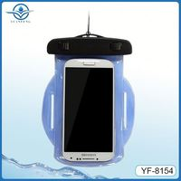 Hot selling waterproof case with arm belt for diving and swimming sports mobile phone arm pouch