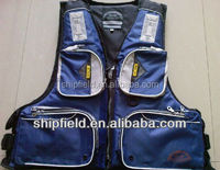 Personalized fishing life jacket for wading in the water