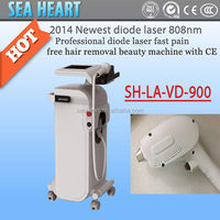 2014 Hot newest Germany product 808nm diodes laser hair removal/ diode laser for hair removal