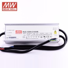 Constant Current Mode IP65 Active PFC Function Built-in Potentiometer Mean Well HLG-120H-C1400A 150W 1400mA LED Driver