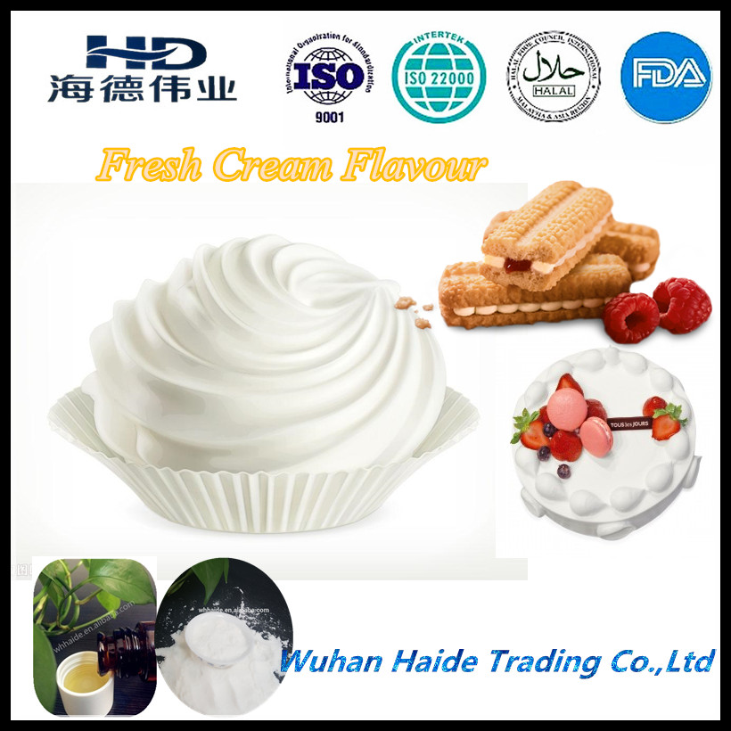Hot sale oil soluble Fresh cream flavor for bakery , bread , cakes , biscuit and so on