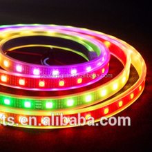 60 leds/m Digital Addressable dmx music control ws2812b rgb led strip light