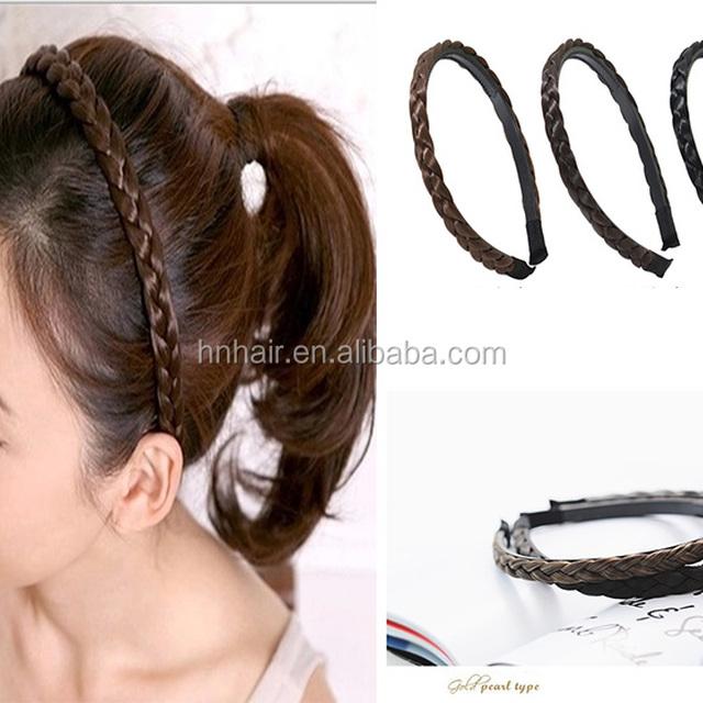 Wholesale New headdress wigs with teeth hairband twist braids headband hairpin wholesale